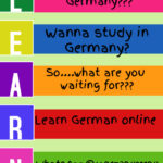 German Language Learning. Classroom and Online.