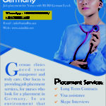 Jobs for Nurses available in Germany. Highly paid jobs
